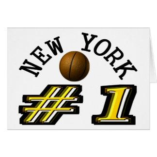 Number 1 New York Basketball Card
