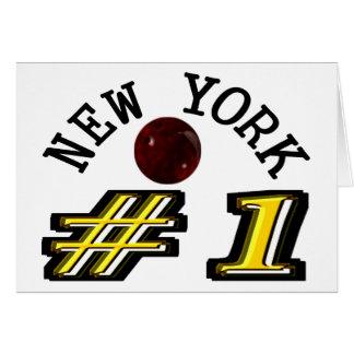 Number 1 New York Bowler Card