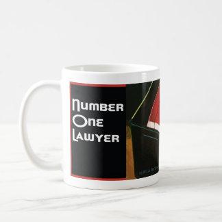 Number 1 One Lawyer Coffee Java Tea Mug