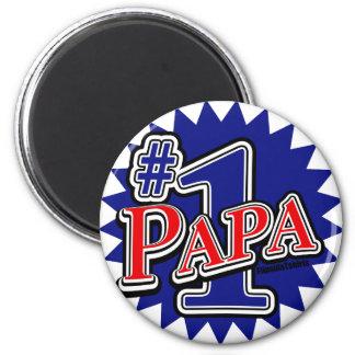 Number 1 Papa Magnet