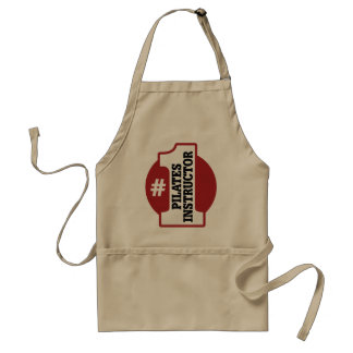 Number 1 Pilates Instructor Aprons