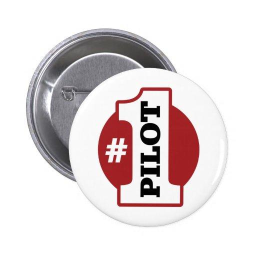 Number 1 Pilot Pins