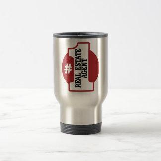 Number 1 Real Estate Agent Travel Mug