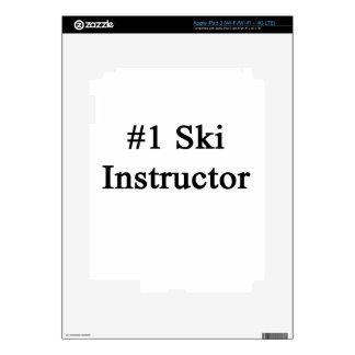 Number 1 Ski Instructor iPad 3 Decals