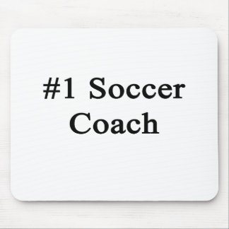 Number 1 Soccer Coach Mouse Pad