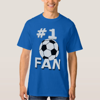 Number 1 Soccer Fan T-Shirt