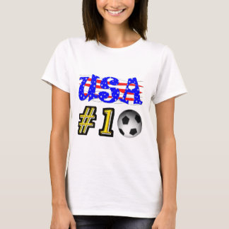 Number 1 Soccer USA T-Shirt