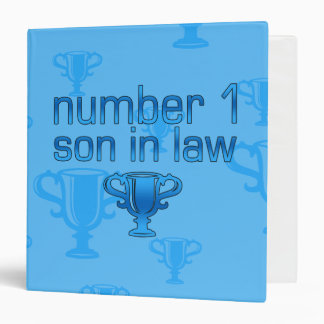 Number 1 Son in Law Binder