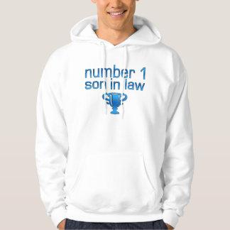 Number 1 Son in Law Hooded Sweatshirt