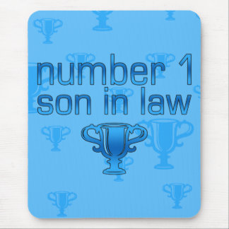 Number 1 Son in Law Mouse Pad