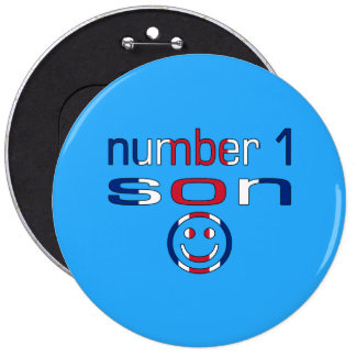 Number 1 Son ( Son's Birthday ) Pin