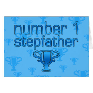Number 1 Stepfather Card