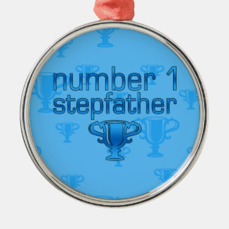 Number 1 Stepfather Ornaments