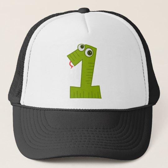 Number 1 trucker hat