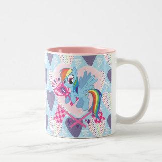 Number 1 Two-Tone coffee mug