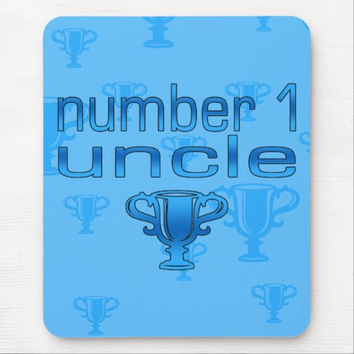 Number 1 Uncle Mousepad