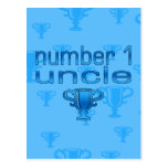 Number 1 Uncle Postcards