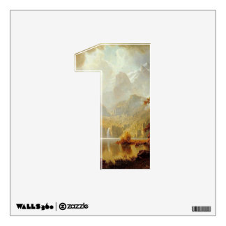 Number 1 Wall Decal - Numeral One thenumeral1