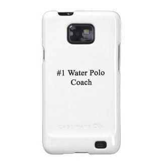 Number 1 Water Polo Coach Samsung Galaxy S2 Case