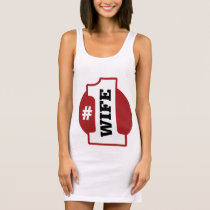 Number 1 Wife Sleeveless Dress