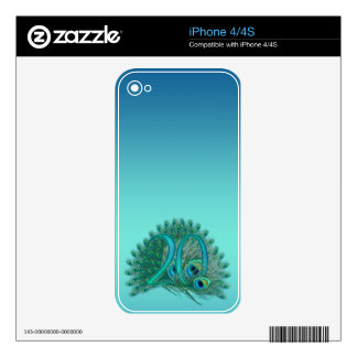 Number 20 / age / years / 20th birthday template iPhone 4 decals