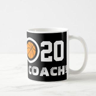 Number 20 basketball coffee mug | Personalizable