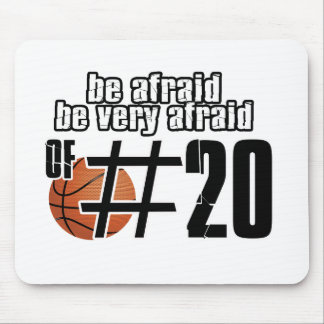 Number 20 Basketball designs Mouse Pad