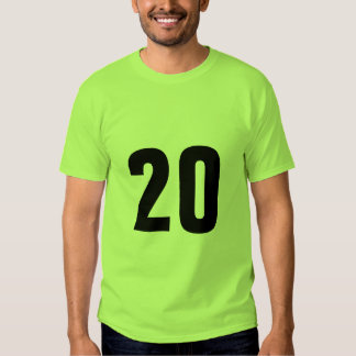 Number 20 T-Shirt