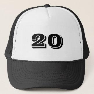 Number 20 trucker hat