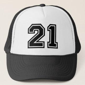 Number 21 Classic Trucker Hat