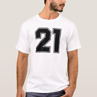 Number 21 frontside print T-Shirt