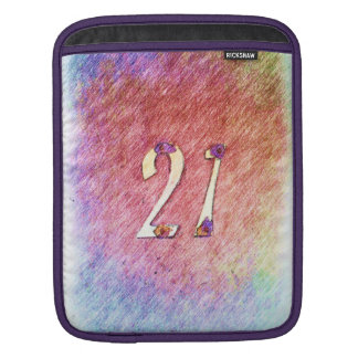 number 21 sleeve for iPads
