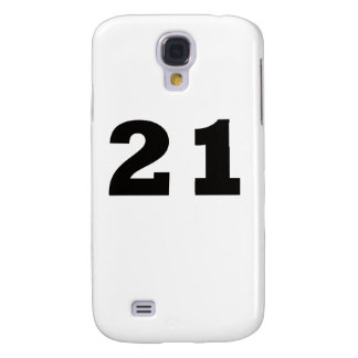 Number 21! samsung galaxy s4 cover