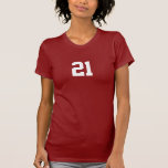 Number 21 t-shirts