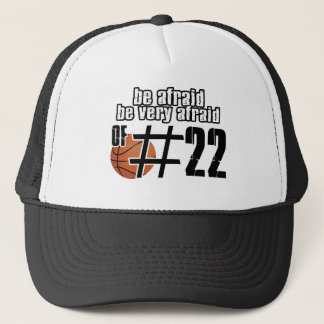 Number 22 Basketball designs Trucker Hat