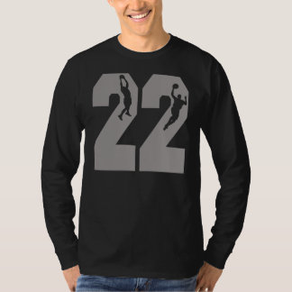 Number 22 Basketball Players T-Shirt