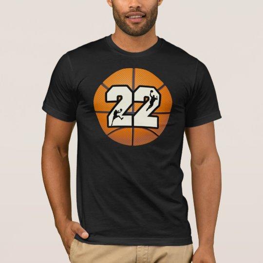 Number 22 Basketball T-Shirt