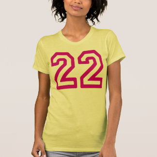 Number 22 T-Shirt