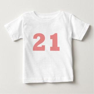 Number 22 tee shirts