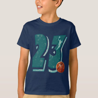 Number 23 Basketball and Player T-Shirt