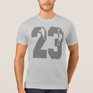 Number 23 Basketball Players T-Shirt