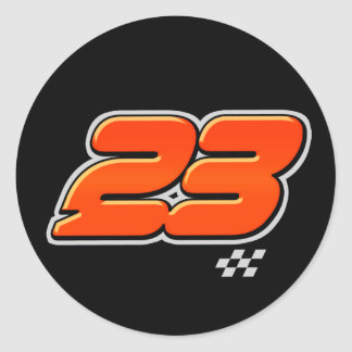 Number 23 - Sticker