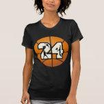 Number 24 Basketball Tshirts