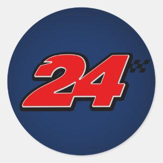Number 24 - Sticker