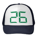 Number - 26 hats