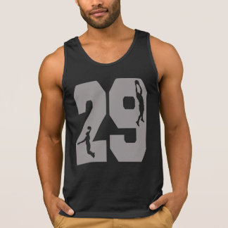 Number 29 & Basketball Players Tank Top
