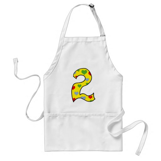 Number 2 apron