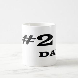 Number 2 Dad Coffee Mug