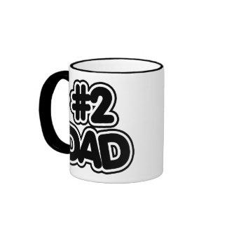 Number 2 Dad Ringer Coffee Mug