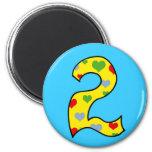 Number 2 magnet
